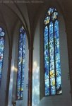 Mainz - Chagallfenster in der Stiftskirche St. Stephan